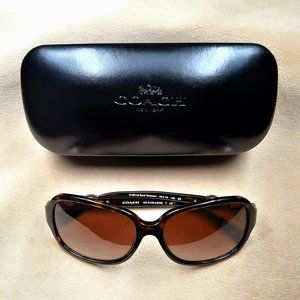 Coach Kissing C Sunglasses  HC8146 Dark Tortoise